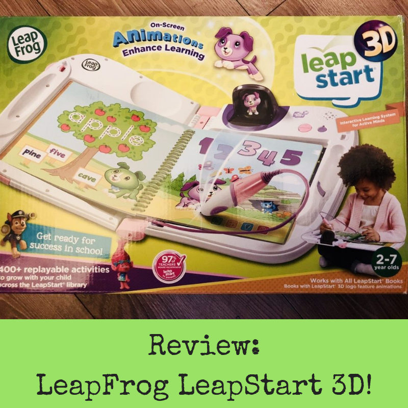 Review: LeapFrog LeapStart 3D!